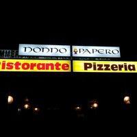 Photo taken at Pizzeria Nonno Papero by John H. on 1/23/2013