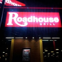 Photo taken at Roadhouse Grill by John H. on 1/25/2013