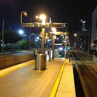 Photo taken at Pico (Chick Hearn) Metro Station by Jarrett W. on 3/30/2013