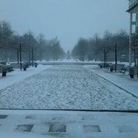 Photo taken at Zuidpark (Koning Albert I-park) by Senne G. on 3/12/2013