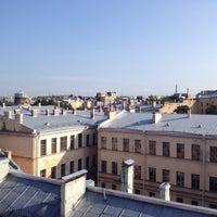 Photo taken at Фонтанная Крыша by Cyrill N. on 8/2/2014