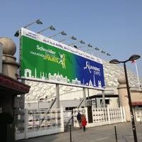 Photo taken at Paris Expo Porte de Versailles by Mike K. on 4/4/2013