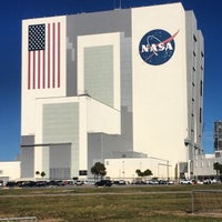Photo taken at Kennedy Space Center Vehicle Assembly Tour by Deneale W. on 12/8/2014