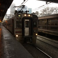 Photo taken at Southshore Train by Xaarlin on 12/27/2014