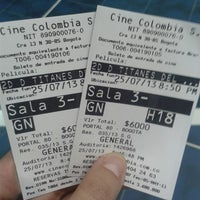 Photo taken at Cine Colombia | Multiplex Portal 80 by Xiomy O. on 7/26/2013