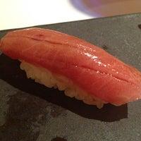 Photo taken at Sushi Azabu by Lilly L. on 3/21/2013