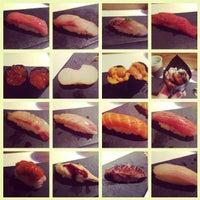 Photo taken at Sushi Azabu by Lilly L. on 3/11/2013