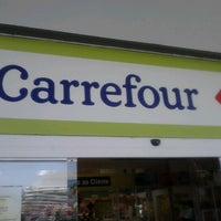 Photo taken at Carrefour by Régis L. on 9/16/2012