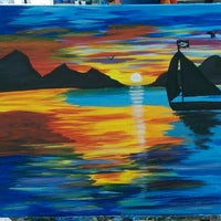 Photo taken at Painting Lounge by Wesley B. on 6/21/2015