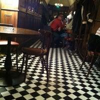Photo taken at Toulouse Café-Brasserie by Onur Ö. on 11/6/2012