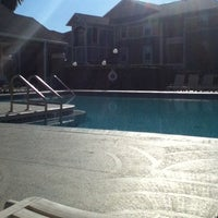 Photo taken at Knights Circle Phase 2 Pool by Celeste S. on 2/5/2013