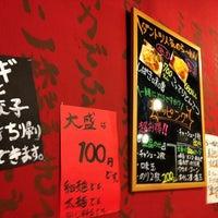 Photo taken at 北海道濃厚しばきとんこつ てらじ by Hideaki Huang O. on 5/10/2013