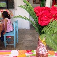 Photo taken at fonda doña rafaela by Giuu G. on 6/18/2014