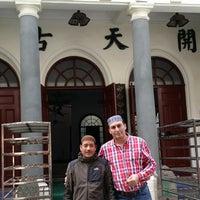 Photo taken at Xiaotaoyuan Mosque by Ziyali K. on 11/28/2014