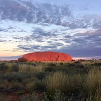 Photo taken at Uluru by Caitlin 🍄 on 5/28/2017