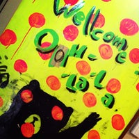 Photo taken at Music Cafe OOH-LA-LA by Yumi N. on 9/22/2013