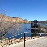 Photo taken at Desert Belle Tour Boat by Lucas R. on 2/1/2013