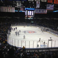 Photo taken at Nassau Veterans Memorial Coliseum by Rob R. on 2/6/2013
