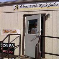 Photo taken at Ainsworth Rock Sales by Gary A. on 10/14/2013