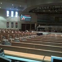 Photo taken at The Fountain of Praise by Jeffery O. on 9/21/2012