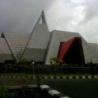 Photo taken at Museum Gunung Api Merapi by Katarina R. on 1/18/2013