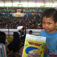 Photo taken at GOR Basket Sidoarjo by Taufieq S. on 12/2/2012