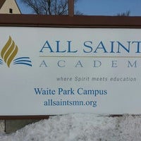 Photo taken at All Saints Academy – Waite Park Campus by Barry L. on 3/8/2013