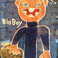 Photo taken at BLU Boy Chocolate Cafe and Cakery by Brian P. on 7/3/2013