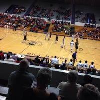 Photo taken at Muncie Fieldhouse by Gregg A. on 12/30/2014