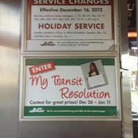 Photo taken at AC Transit Bus #20 by Rich C. on 12/31/2012