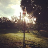 Photo taken at Morley Field Disc Golf Course by Avery J. on 12/1/2012