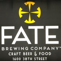 Photo taken at FATE Brewing Company by Avery J. on 3/8/2013