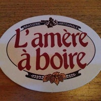 Photo taken at L'Amère à Boire by Avery J. on 9/4/2013