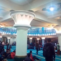 Photo taken at Masjid Ulil Albab UII by Adam R. on 12/7/2016