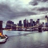 Photo taken at Manhattan Bridge by Tarik H. on 11/2/2012