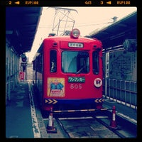 Photo taken at Tennojiekimae Station by Kazuyuki K. on 7/15/2013