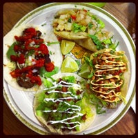 Photo taken at Tacocracy by Lauren B on 10/11/2012