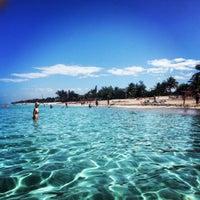 Photo taken at Playas de Varadero by Christina M. on 2/5/2013