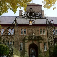 Photo taken at Burg Schnellenberg by Daniel S. on 10/20/2012