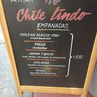 Photo taken at Chile Lindo Empanadas by Hanna C. on 5/25/2013