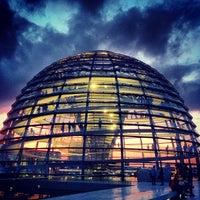 Photo prise au Coupole du Reichstag par Olga T. le7/19/2013