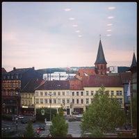 Photo taken at Pfalztheater by Olga T. on 5/25/2013