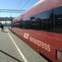 Photo taken at Aeroexpress Terminal at Belorusski Railway Station by 🍁КОТ..!.. Ф. on 3/27/2013
