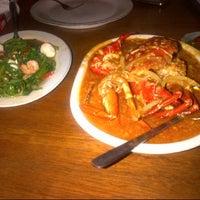 Photo taken at Telaga Seafood Restaurant by Velutine S. on 5/8/2014