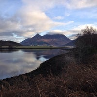 Photo taken at Loch Leven by Jennifer J. on 12/1/2013