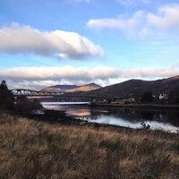 Photo taken at Ballachulish Bridge by Jennifer J. on 12/1/2013