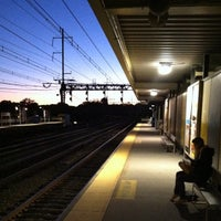 Photo taken at Metro North - Westport Train Station by Andrew P. on 9/23/2012