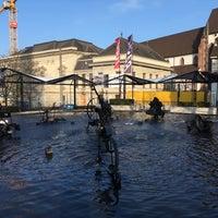 Foto diambil di Tinguely-Brunnen oleh Bogdan L. pada 1/14/2018