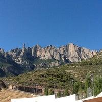 Photo taken at Monistrol de Montserrat by Глебаня У. on 9/15/2012