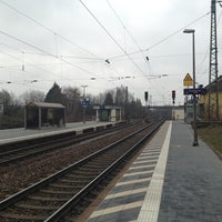 Photo taken at Obertraubling Bahnhof by Chris M. on 4/7/2013